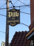 The Pub on Passyunk East Sign